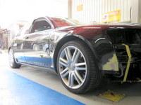 アウディ S8損傷部分