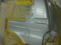 トヨタ ランドクルーザー損傷部分