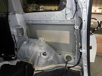 トヨタ ヴォクシー損傷部分