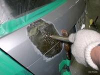 メルセデス・ベンツ C200T損傷部分