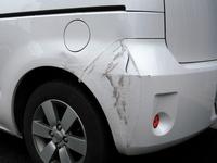 トヨタ ポルテ損傷部分
