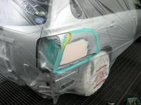 トヨタ カローラ損傷部分