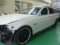 BMW 525iツーリング損傷部分