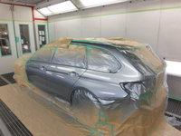 BMW 320d ツーリング損傷部分
