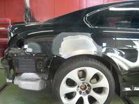 BMW 650i損傷部分