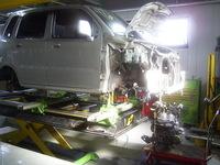 スズキ ワゴンR損傷部分