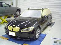 BMW 320iツーリング損傷部分