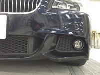 BMW 523i損傷部分