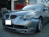BMW 545i損傷部分