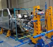 フレーム修正機 明々工業 キュービックシステム